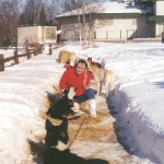 Diana Edwards Iditarod volunteer